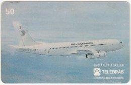 BRASIL F-673 Magnetic Telebras - Traffic, Airplane - Used - Brazil