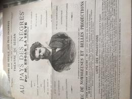THÉÂTRE DE SEDAN Affiche A4 + Gravure 1882 à Voir - Affiches