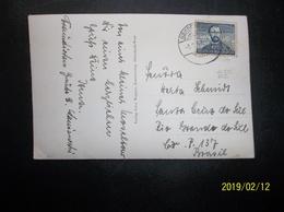 Deutsche Bundespost: 1952(?) PPC To Brasil(?) (#BN4) - [7] Federal Republic