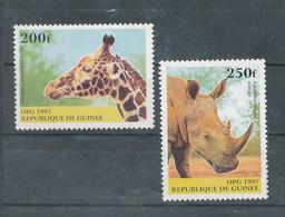 Animaux Aficains - Guinée (1958-...)