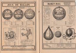 Catalogue 20 Pages / 1932 OGEO / Jeux De Cour, De Plein Air, Tir / Croquet Ballon Bibendum Spirodolr Escarpolette - Jouets Anciens