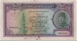 EGYPT  P. 27b 100 P 1951 F - Egypte