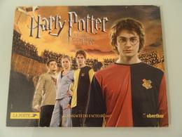 Almanach Du Facteur   2007  Recto  Harry Potter  Et  La  Coupe De Feu  Verso  Harry Potter Et La Coupe De Feu - Calendriers