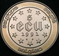 5 Ecu Argent 1991 QP - 1951-1993: Baudouin I