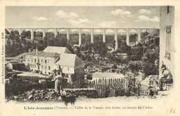 L'Isle Jourdain ( Vienne) Vallée De La Vienne ,rive Droite , En Amont Du Viaduc  RV - L'Isle Jourdain