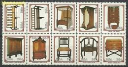 Republic Of South Africa 1992 Mi Zeh845-854 MNH ( ZS6 SAFzeh845-854 ) - Autres