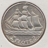 @Y@   Polen  2 Zlotty   1936  Zilver            (4868) - Polen