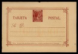 "CUBA. 1879. Edifil Enteros Postales 2. 25 Cts. Rojizo S/ Crema, Con Variedad Plancha ""Sr"" Tipo Plancha II. Cat. Laiz Eur - Cuba"
