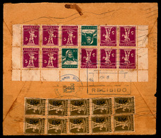 SWITZERLAND. 1930 (oct 23) Registered Cover From Lucerne To Santiago, CUBA From Bela Sekula Franked On Reverse With Defe - Switzerland