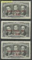 Honduras 1953 Mi 477-479 MNH ( ZS1 HND477-479 ) - Honduras