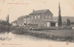 CPA 71 SALORNAY SUR GUYE SCIERIE LENFANT - Francia