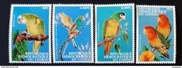 Congo 2000** Mi.1500-03. Parrots MNH [1;81] - Parrots