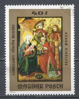 Hungary 1973. Scott #2250 (U) Adoration Of The Kings From Hungarian Anonymousx* - Hungary