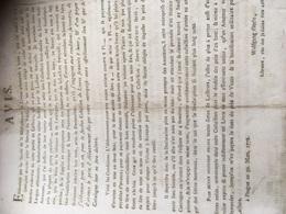 PRAGUES WOLFGANG GERLE LIBRAIRE 1778 -avis - à Voir - Reclame