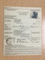 K6 Finnland 1926 Rückscheinvon Helsinki Nach Leppävesi - Lettres & Documents