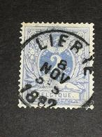 COB N° 27 - Oblitération Lierre 1882 - 1869-1883 Léopold II