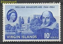 British Virgin Islands 1964 Mi 139 MNH ( ZS2 BVI139 ) - Joint Issues