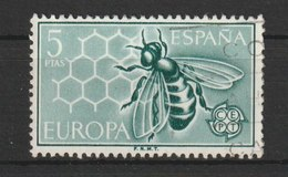 MiNr. 1341  Spanien 1962, 13. Sept. Europa. - 1931-Heute: 2. Rep. - ... Juan Carlos I