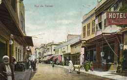 Rue De Tantah Commerces Colorisée RV - Tanta