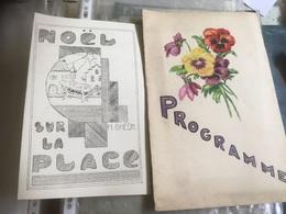 Programme Noël Sur La Place - H.Gheon 1939 Fête De Saint Thomas - Programmes