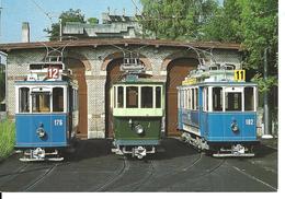 ZURICH Verein Tram-Museum Zürich (bleu-vert-bleu)Minirex Luzern No 1668 -CETTE CARTE N'A PAS VOYAGÉ - ZH Zurich