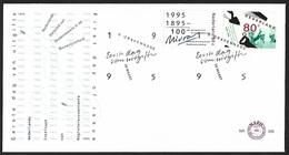 1995 - NEDERLAND - FDC - SG 1757/1758 [NIVRA & NVOB] + 'S GRAVENHAGE - FDC