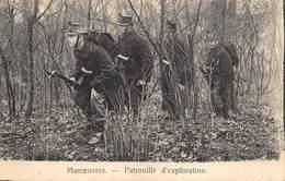 Camp De Beverloo Leopoldsburg    Manoeuvres  Patrouille D'exploration     I 5467 - Leopoldsburg (Kamp Van Beverloo)