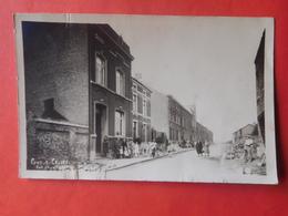 Carte Photo Pont-à-Celles 1933 Rue De L'Arsenal / Animée - Pont-a-Celles
