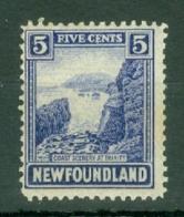 Newfoundland: 1923/24   Pictorial   SG153     5c    MH - Newfoundland