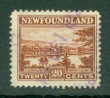 Newfoundland: 1923/24   Pictorial   SG161     20c     Used - Newfoundland