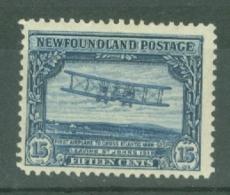 Newfoundland: 1928/29   Publicity Issue [D.L.R.]  SG175     15c  MH - 1908-1947