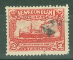 Newfoundland: 1929/31   Publicity Issue [Perkins, Bacon]  SG180b     2c  [Perf: 14-13½]    Used - Newfoundland