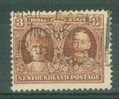 Newfoundland: 1929/31   Publicity Issue [Perkins, Bacon]  SG181     3c      Used - 1908-1947