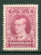 Newfoundland: 1929/31   Publicity Issue [Perkins, Bacon]  SG182     4c      MH - Newfoundland