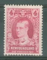Newfoundland: 1931   Publicity Issue [Perkins, Bacon] [with Wmk]  SG201     4c      MH - Newfoundland