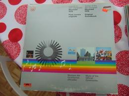 Piste Sonore Originales- Jeux De La XXIe Olympiade De Montréal 1976 - Vinylplaten