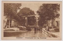 Amsterdam - Groenburgwal Met Brug Staalstraat - Amsterdam