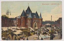 Amsterdam - Nieuwmarkt Levendig - 1913 - Amsterdam