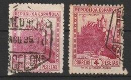 MiNr. 628 Spanien 1932, April/1938. Freimarken: Baudenkmäler. - 1931-Heute: 2. Rep. - ... Juan Carlos I