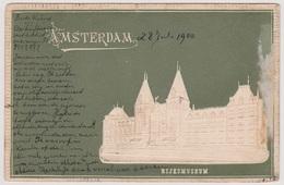 Amsterdam - Rijksmuseum Reliefkaart - 1900 - Amsterdam