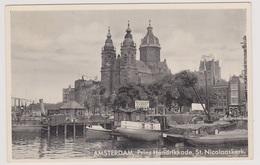 Amsterdam - Prins Hendrikkade St. Nicolaaskerk - Amsterdam