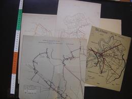 LOT Document Plan AFFOUAGES Bois ECLAIRAGE PUBLIC AUXONNE 21 Forces Motrices Est - Europe