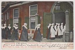 Amsterdam - Burgerweesmeisjes Met Ingang N. Kerk - Amsterdam