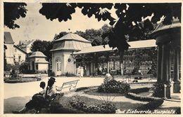 Bad Liebwerda, Lazne Libverda - Kurplatz 1936 - Tchéquie