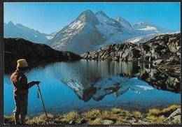 GRUPPO ADAMELLO-PRESANELLA - LAGO MANDRONE - TIMBRO RIFUGIO CITTA' DI TRENTO - VIAGGIATA 1990 - Alpinisme