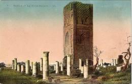 Cpa Du Maroc, Rabat, La Tour Hassan - Rabat
