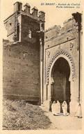 Cpa Du Maroc, Kasbah Du Chellah, Porte Intérieure, Rabat - Rabat