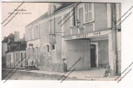 TRES RARE CPA SAINT BRIS (89) : Hôtel De La Bouteille ( Café PREVOST) (envoyée à Hôtel De Voutenay) - Saint Bris Le Vineux