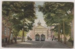 Amsterdam - Raadhuisstraat Met Paleis En Trams - Amsterdam