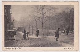 Amsterdam - Singel In Winter - Bern F. Eilers - Amsterdam